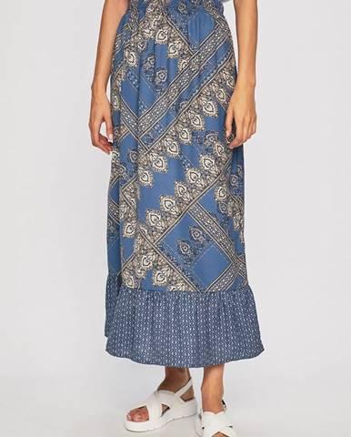 Modrá sukně only