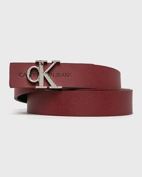 Červený pásek calvin klein jeans