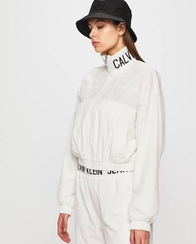 Bílá bunda calvin klein jeans