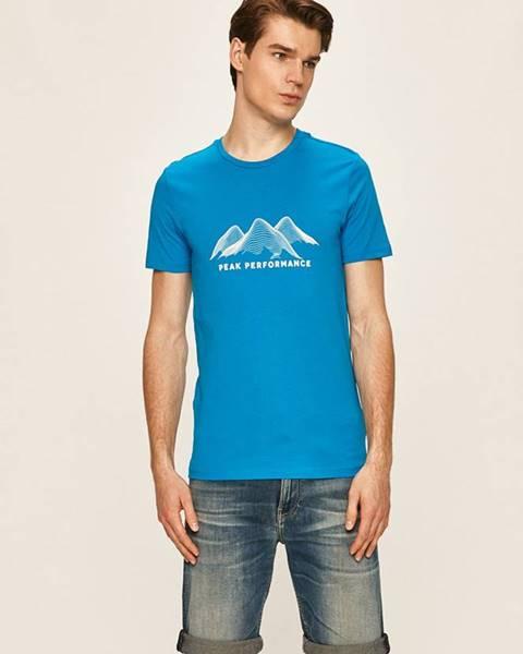 Fialové tričko Peak Performance