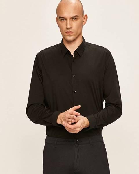 Černá košile Pierre Cardin