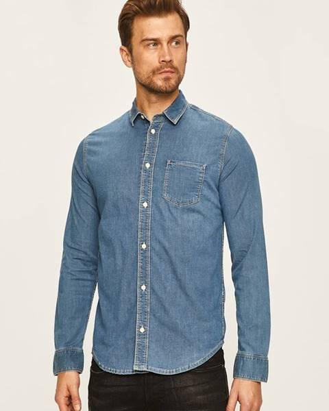 Modrá košile pepe jeans