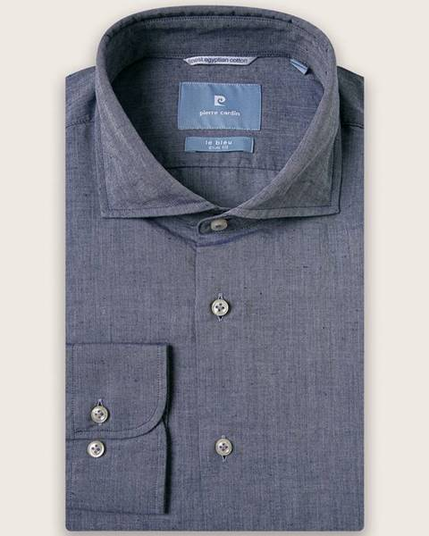 Modrá košile Pierre Cardin