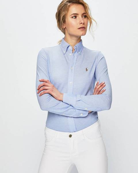 Modrá halenka Polo Ralph Lauren