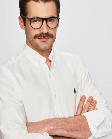 Bílá košile Polo Ralph Lauren