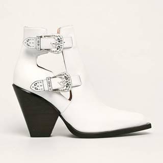 Pinko - Westernové kožené boty