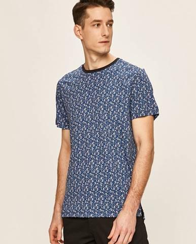Modré tričko Premium by Jack&Jones