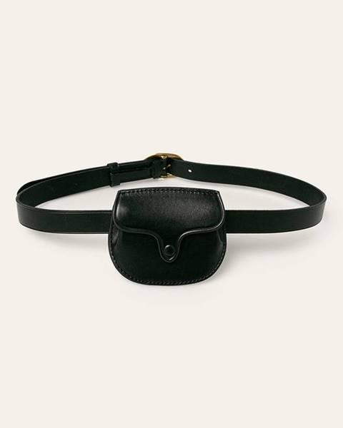Černý pásek Polo Ralph Lauren