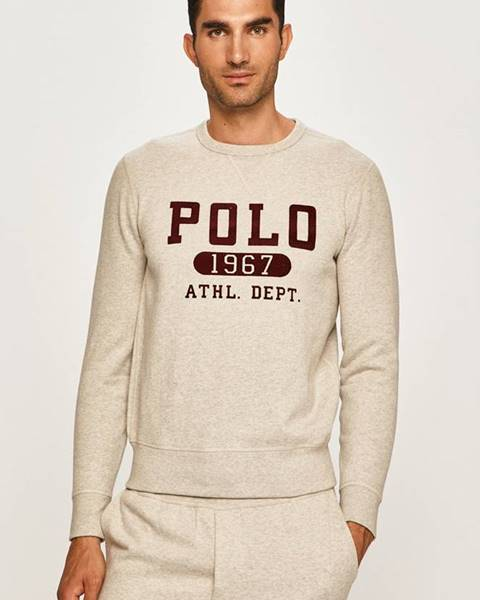 Šedá mikina Polo Ralph Lauren