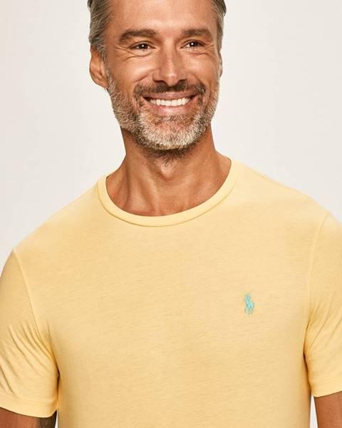 Žluté tričko Polo Ralph Lauren