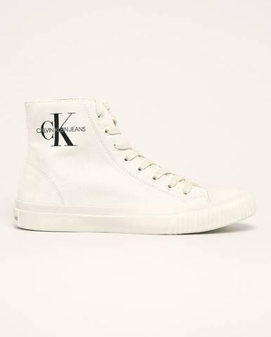 Bílé boty calvin klein jeans