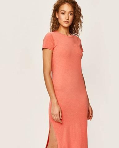 Červené šaty Polo Ralph Lauren
