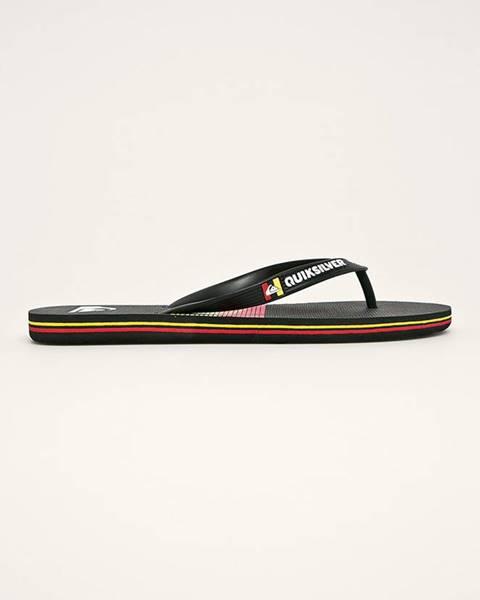 Černé boty quiksilver