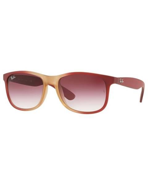 Červené brýle Ray-Ban