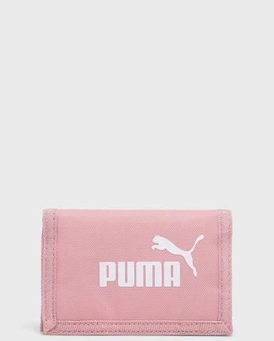 Růžová peněženka puma