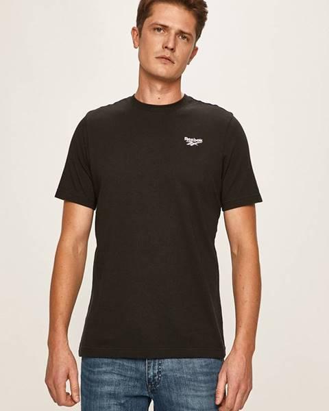 Černé tričko reebok classic
