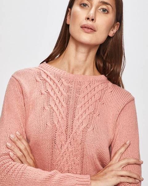 Růžový svetr roxy