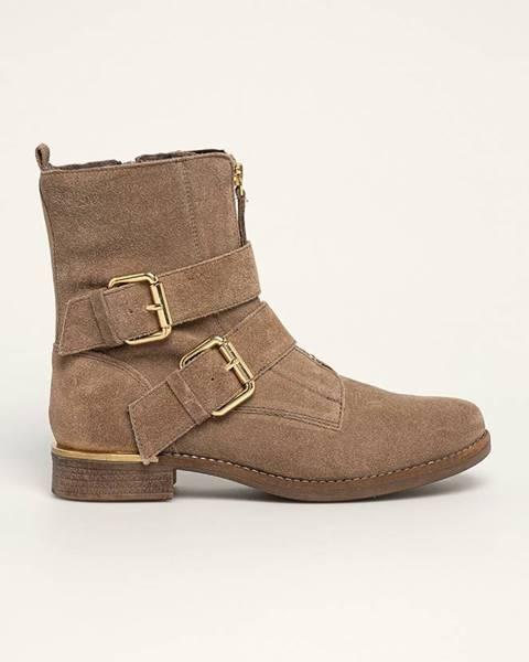 Šedé boty s.oliver