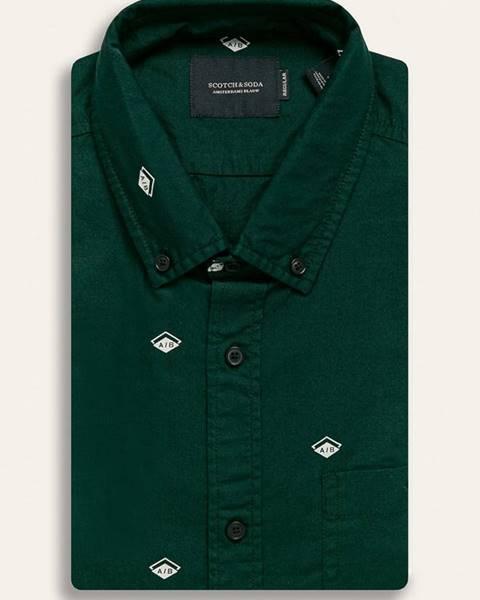 Zelená košile scotch & soda