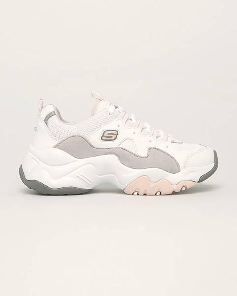 Bílé boty Skechers