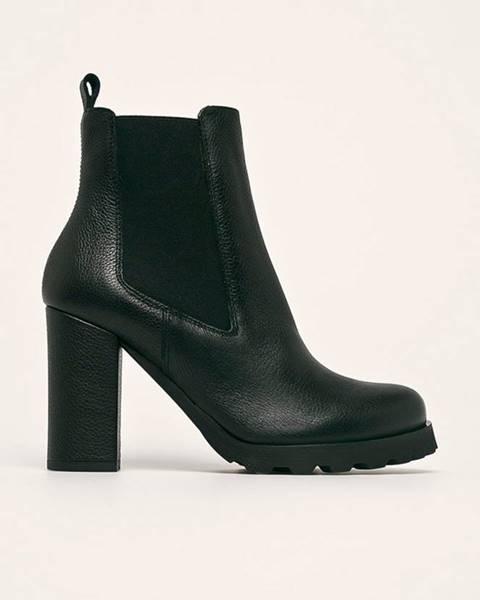 Černé boty Solo Femme