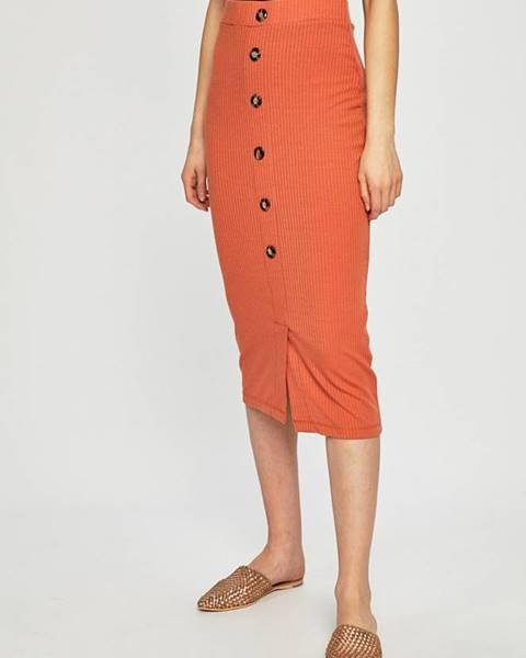 Oranžová sukně tally weijl
