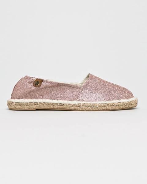 Růžové boty tamaris