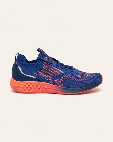 Fialové boty tamaris