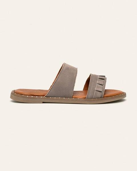 Šedé boty tamaris