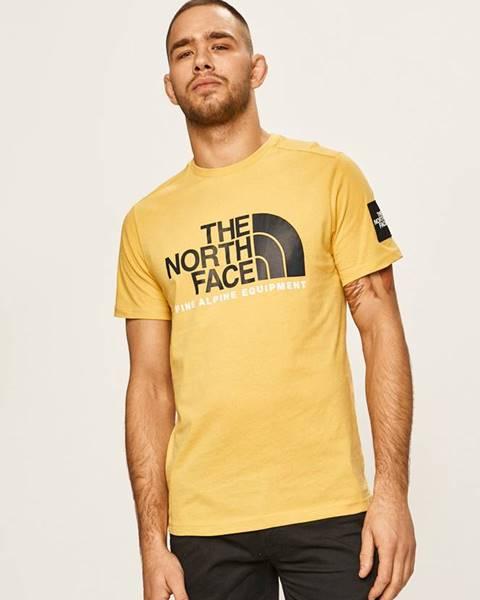 Žluté tričko The North Face