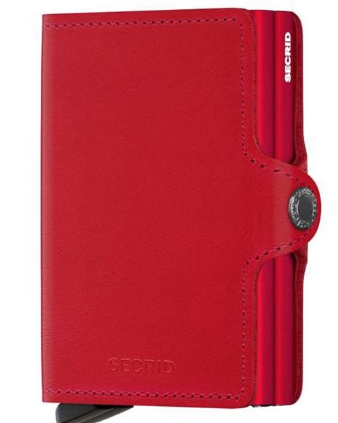 Červená peněženka secrid