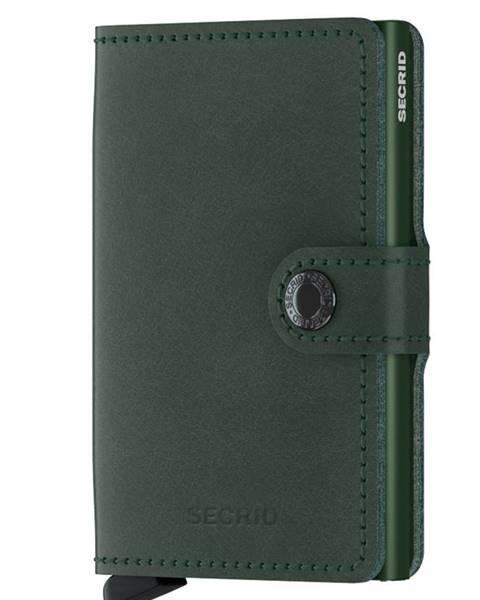 Zelená peněženka secrid