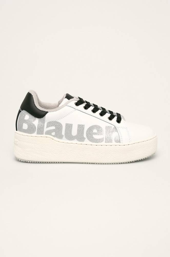 Blauer Blauer - Kožené boty
