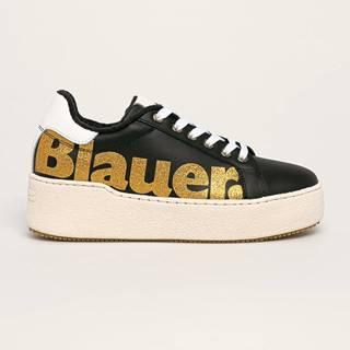 Blauer - Kožené boty