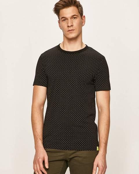 Černé tričko tom tailor denim