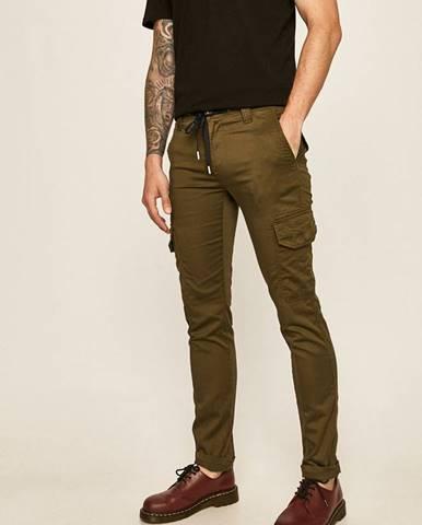 Zelené kalhoty tom tailor denim