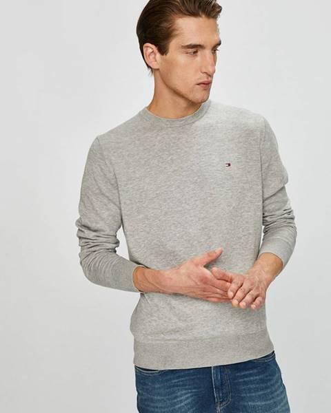 Šedý svetr tommy hilfiger