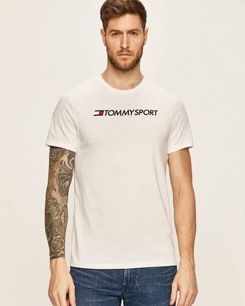 Bílé tričko Tommy Sport