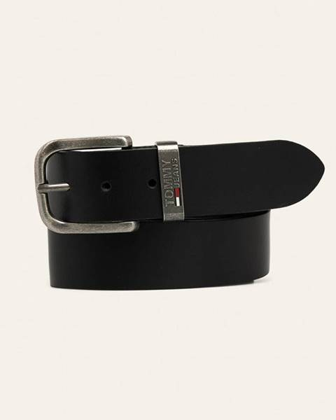 Černý pásek Tommy Jeans