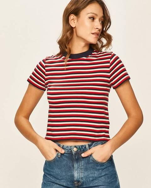 Vícebarevný top Tommy Jeans