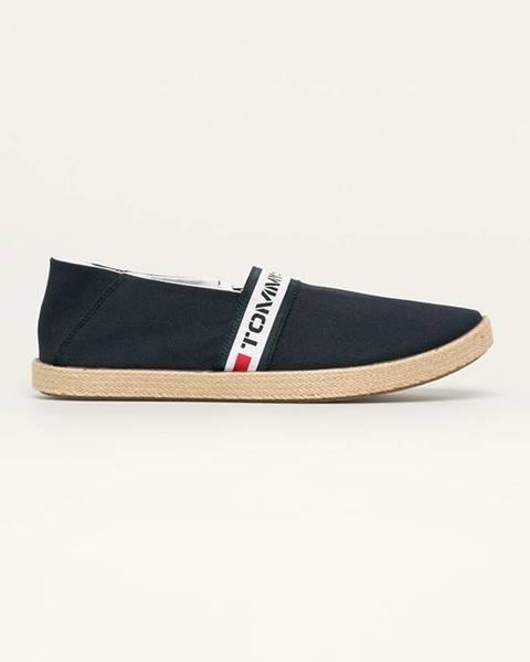 Modré boty Tommy Jeans