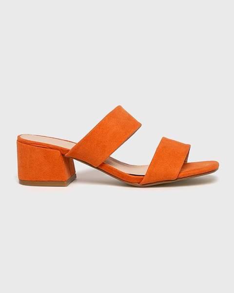 Oranžové boty Truffle Collection