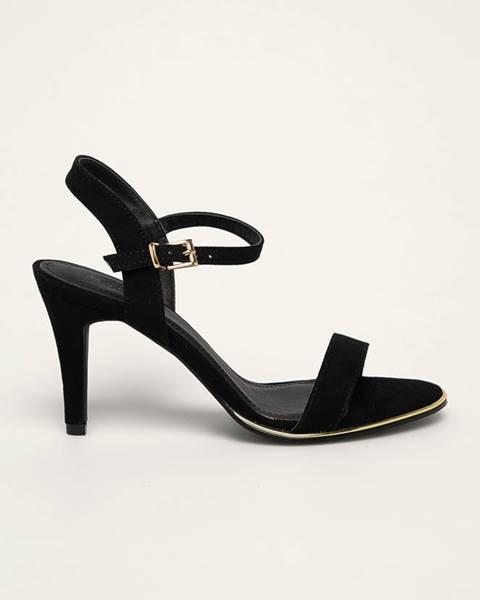 Černé boty Truffle Collection