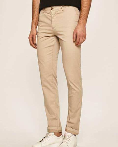 Béžové kalhoty Trussardi Jeans
