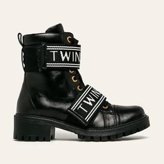 Twinset - Kožené workery