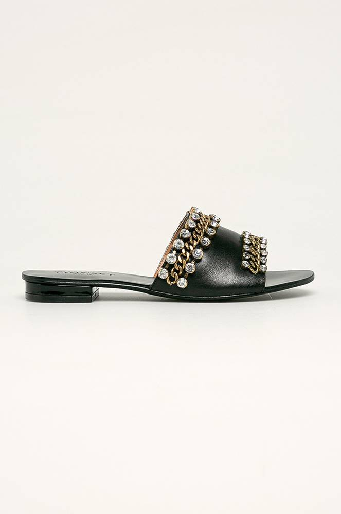 TWINSET Twinset - Kožené pantofle