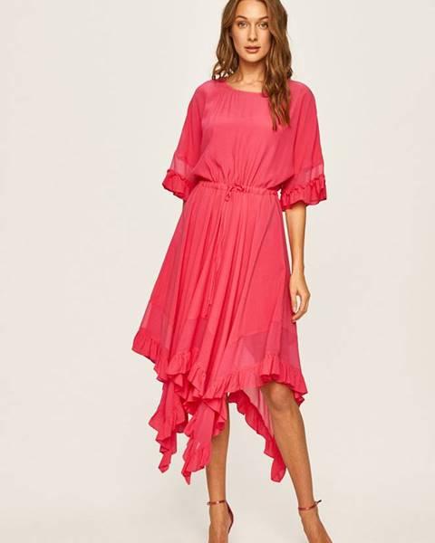 Růžové šaty TWINSET