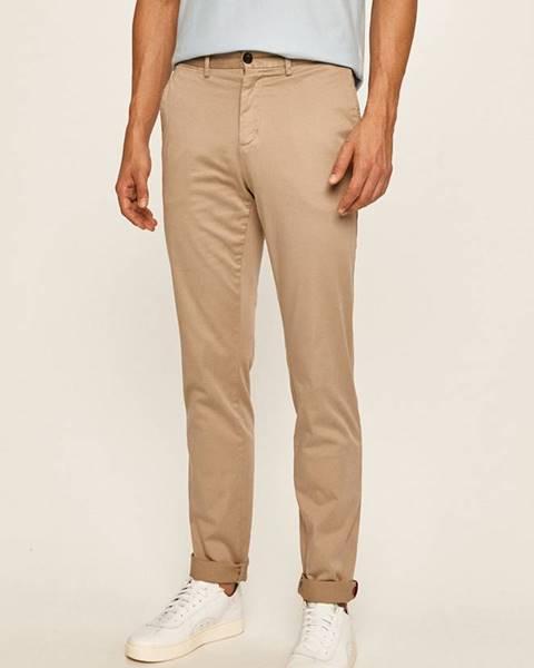 Hnědé kalhoty tommy hilfiger