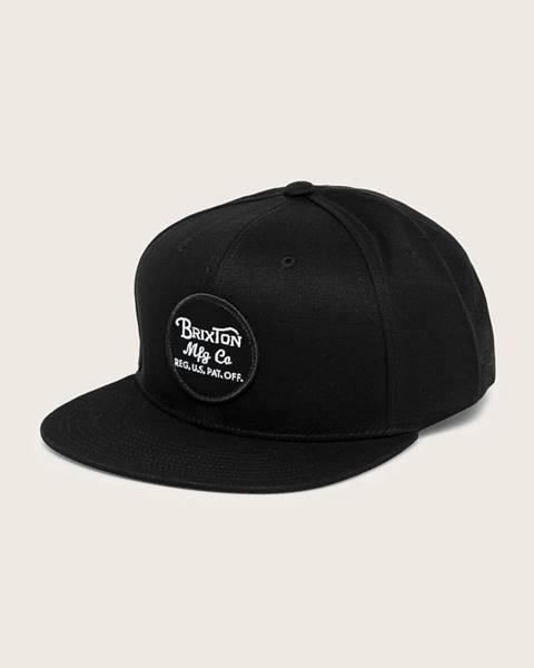 Černá čepice Brixton