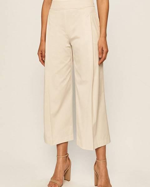 Béžové kalhoty Stefanel